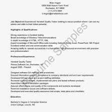 100 automation tester resume sample simple cover letters for