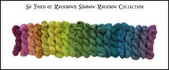 wonderland mini skein packs so fond of rainbows frabjous
