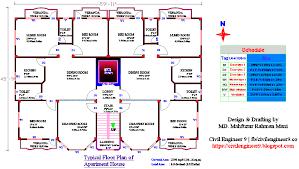 Floor Plan Free Download Autocad 2d Floor Plan For House Free Download