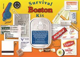 boston survival kit massachusetts bay trading company