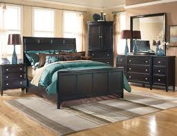 dark furniture with teal bedding master bedroom ideas