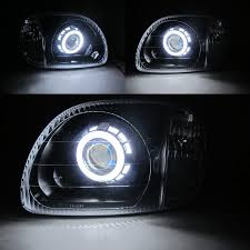 nissan micra headlight bulb march micra k11 1998 2003 ccfl angel eye xenon hid projector