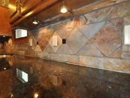 interior classy grey brown colors travertine kitchen