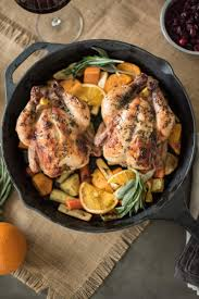 herb roasted cornish hens with root vegetables culinary