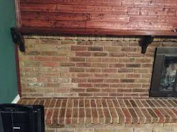 diy stain fireplace brick wilker do u0027s