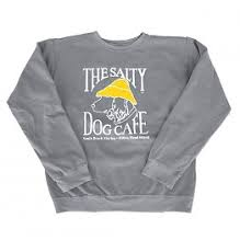 sweater with dogs on it sweatshirts the salty inc