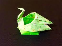 折り紙 鶴の器 origami box of the crane origami pinterest
