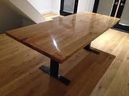 barn door dining table custom built maple dining table by rebarn rebarn toronto