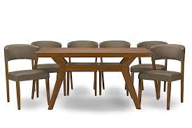 Patio Furniture Montreal by Amazon Com Baxton Studio Montreal Mid Century Dark Walnut Wood