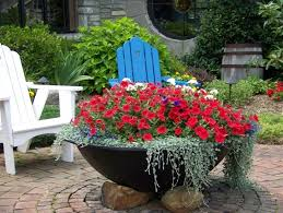 210 best flower container gardens images on pinterest