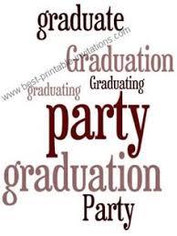 free printable graduation party invitations graduation party