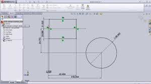 27 solidworks sketch tutorial fully define sketch tool youtube