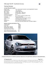 new vw polo gti specs