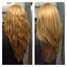 is v shaped layered look good for curly hair wavy or straight it s a great cut hair pinterest hair style