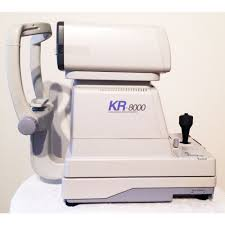 used topcon kr 8000 autorefractor keratometer dec
