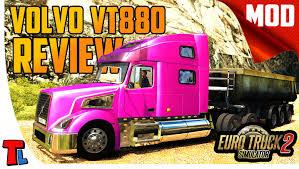 volvo vnl 780 blue truck farming simulator 2017 2015 15 17 volvo vt 880 review 4k 60 fps euro truck simulator 2 best mods