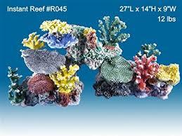 Amazon Instant Reef 045 Artificial Coral Reef Aquarium