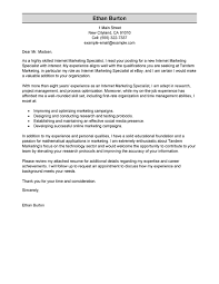 bunch ideas of cover letter for internet marketing job about cover