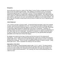 how to write a statement of objectives artist s statement wikipedia