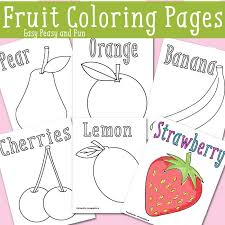 easy peasy coloring page fruit coloring pages free printable easy peasy and fun