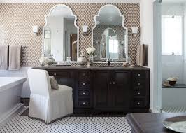 bathroom freestanding sink vanity with cozy walker zanger tile