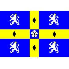 Blue Flag Yellow Cross Gcma Northern Region