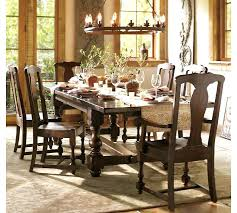 pottery barn dining room tables potterybarn dining table photo 2 of painted rectangular extending