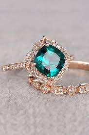 ring image for wedding best 25 green engagement rings ideas on emerald