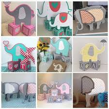 elephant centerpieces for baby shower 91 best baby showers images on alphabet blocks baby