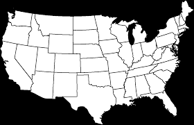 Blank United States Map by Best Of Diagram United States Map With State Borders Download