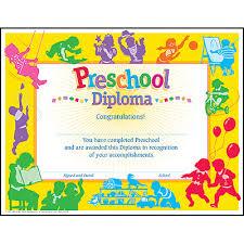 preschool diploma classic preschool diploma pk k certificates diplomas