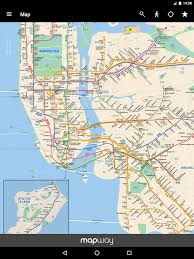 metro york map york subway mta map and routes of nyc subway android apps