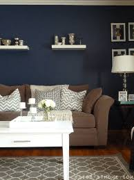 How To Paint An Accent Wall by Navy Wall Hmmm Never Thought Of Navy It U0027s A Neutral And It Would