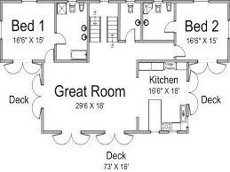 small guest house floor plans attached guest house plans home deco plans