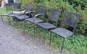 Metal Garden Chairs And Table Vintage Arts Furnishings Garden Furniture Trocadero