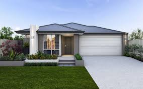 houses for narrow lots narrow lot single storey homes perth cottage home designs