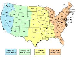 map of usa time zones map of time zones usa map of usa states