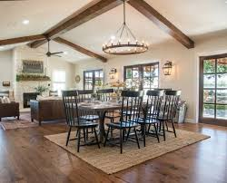 Living And Dining Room Remodelaholic Get This Look Fixer Upper Big Country House