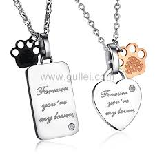engraved pendants 53 necklaces for him and matching personalized matching