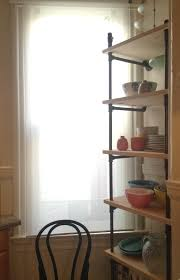Black Pipe Shelving by Black Pipe Shelving To The Studs