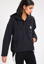 carhartt wip nimbus summer jacket black women clothing jackets