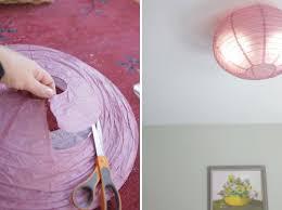 Diy Ceiling Ls Diy Flush Mount Light Cover Diy Flush Mounted Paper Ceiling