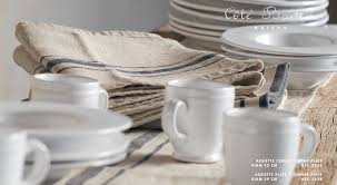 cote table dinnerware france the paper mulberry setting the table