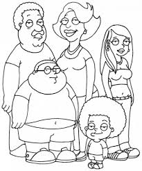 cleveland brown jr colouring pages cartoon colouring pages
