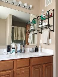 Framing Builder Grade Bathroom Mirror Diy For Less Framing A Builder Grade Bathroom Mirror For 20