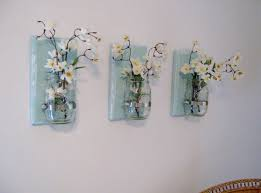 Vase Wall Sconce Wall Sconce Lighting Jar Flowers Jar Vases