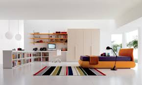 Teen Room Design Ideas Fascinating Colorful Accents At Spacious Space Of Bedroom