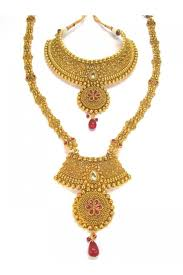 bridal jewelry necklace set images Designer indian polki bridal jewellery sets 85148 sd complete jpg