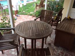 Refinishing Metal Patio Furniture - refinishing teak outdoor furniture wilson painting