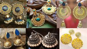fancy jhumka earrings fancy statement earrings jhumka designs